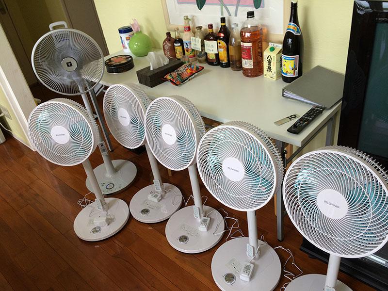 扇風機が子ども産みました~  ?