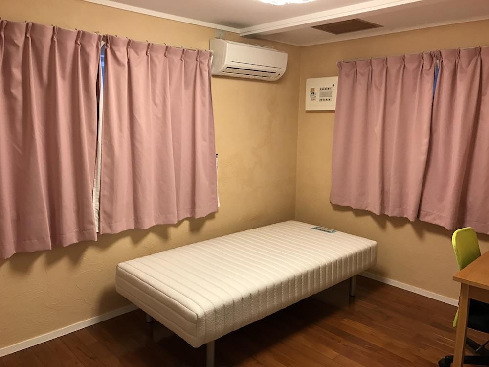 自分の住んでいた部屋の掃除